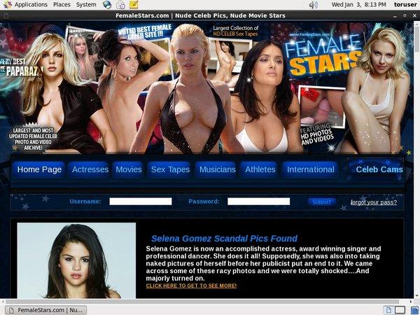 Female Stars Nude