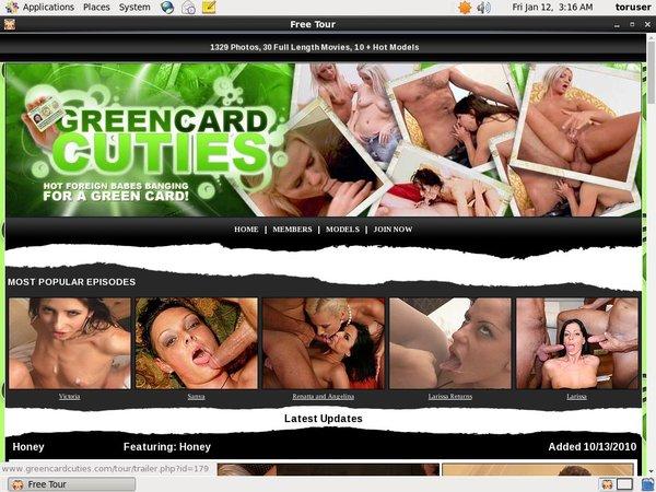 Green Card Cuties
