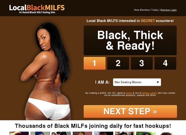 Local Black Milfs List