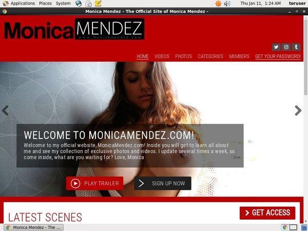 Monicamendez.com アカウント