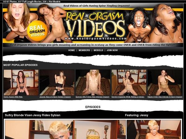 Realorgasmvideos.com Full Account
