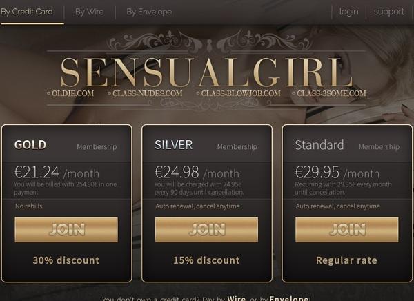 Sensualgirl Payment