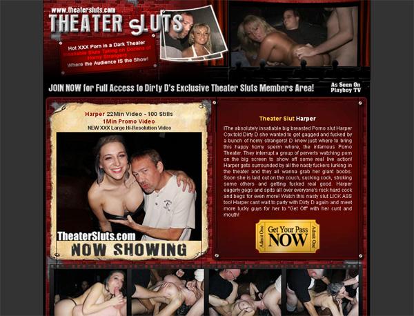 Theater Sluts Site