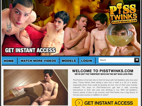 Free Pass For Piss Twinks