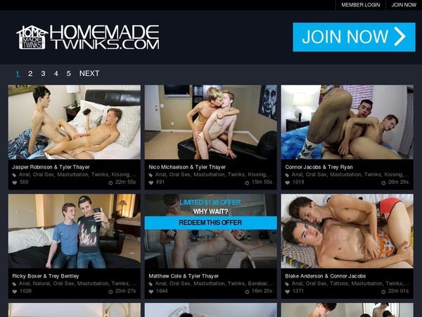 Homemadetwinks Member Sign Up