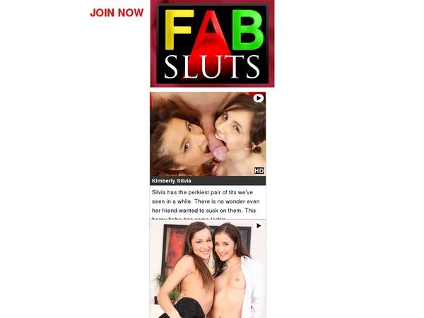 Fab Sluts New Password