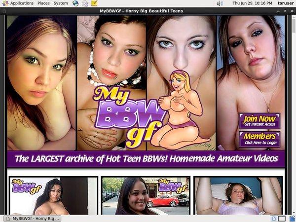 My BBW GF Porn Video