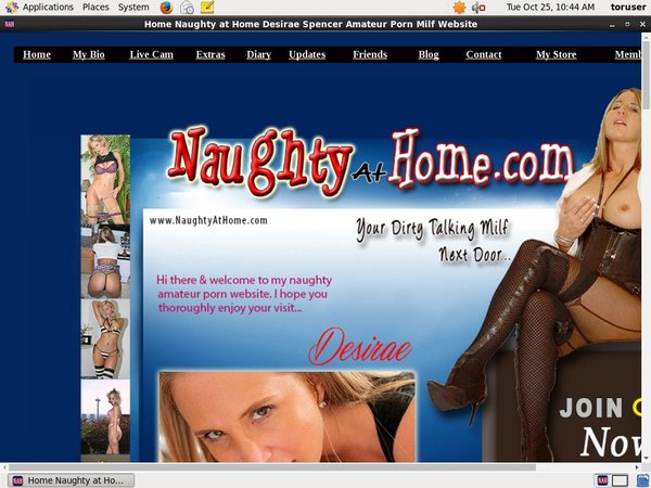 Naughty At Home Account Online