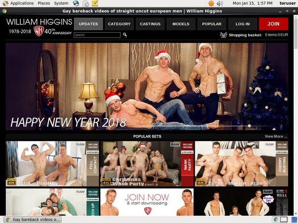 Williamhiggins.com Login Password