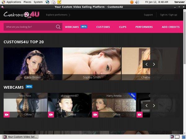Customs4u.com Page