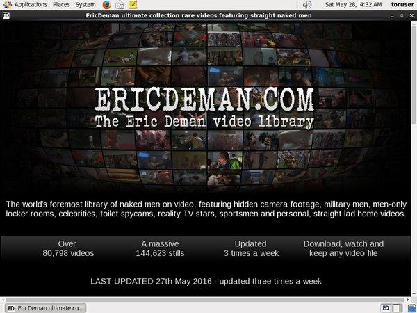 Ericdeman Porno