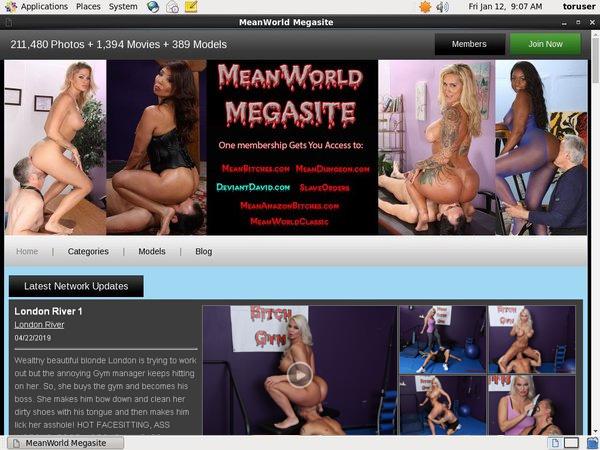 Free Meanworld Login