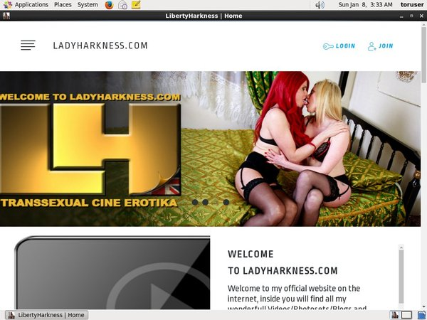 Libertyharkness.modelcentro.com With Direct Debit