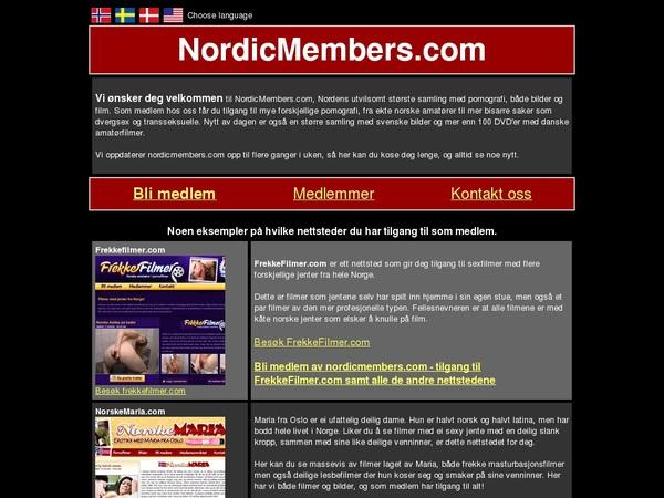 Nordic Members Trial