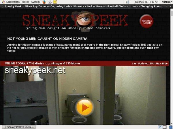 Sneaky Peek Galleries