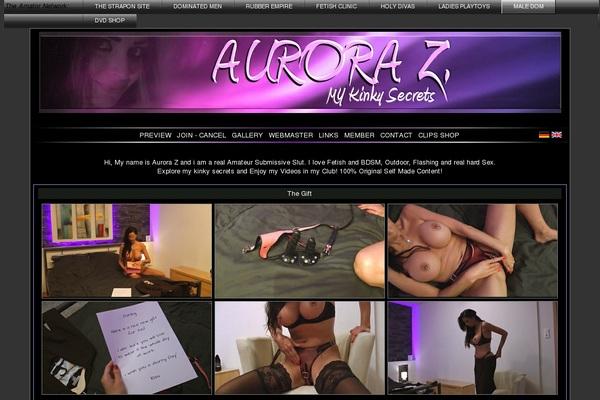 Aurora Z. Account Information