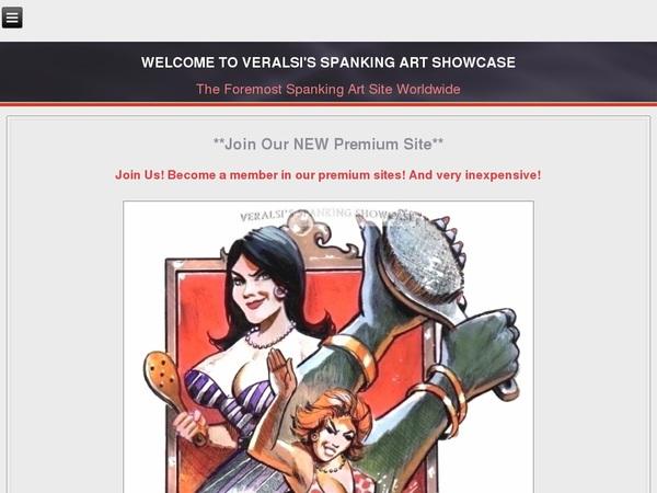 Free Veralsis Spanking Art Membership