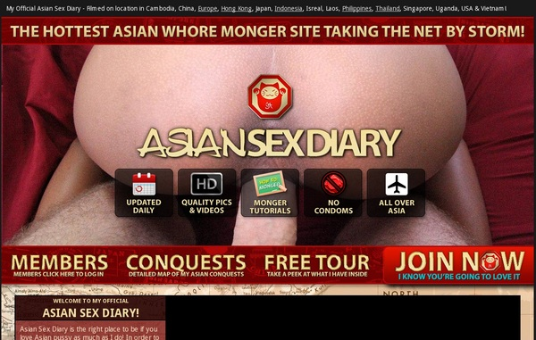 Asian Sex Diary 帐号