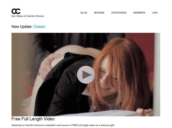 Videos Camillecrimson